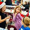 JOED VIERA/STAFF PHOTOGRAPHER-Pendleton, NY-Elizabeth Hayes 8, Faith Murphy 8, and Erin Verstreate 8 have fun at Starpoint High School. Tuesday, December 16, 2014