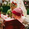 JOED VIERA/STAFF PHOTOGRAPHER-Barker, NY-Drake and Reina Straub take a look into Santa's mailbox. Monday, December 8, 2014
