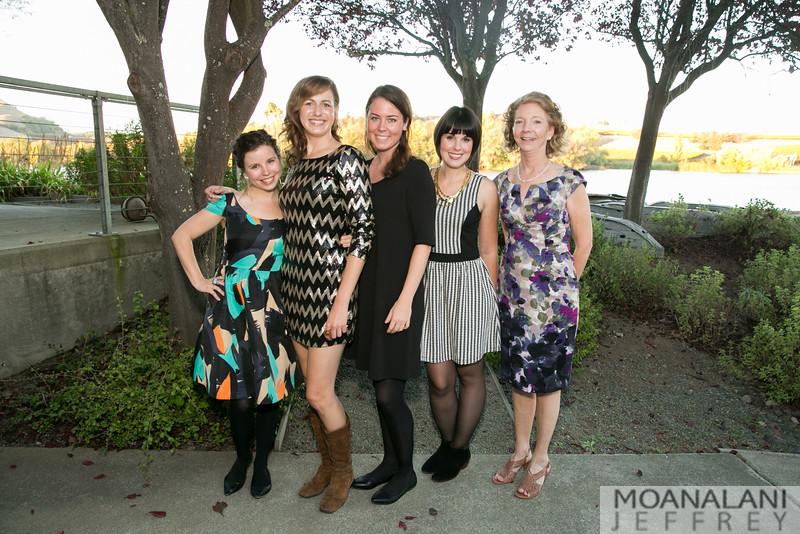 1742 Jen Ontiveros, Melissa McLean, Meagan Doud, Stephanie King, Janet Houston