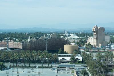 Disneyland from afar