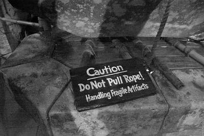 Do Not Pull Rope!