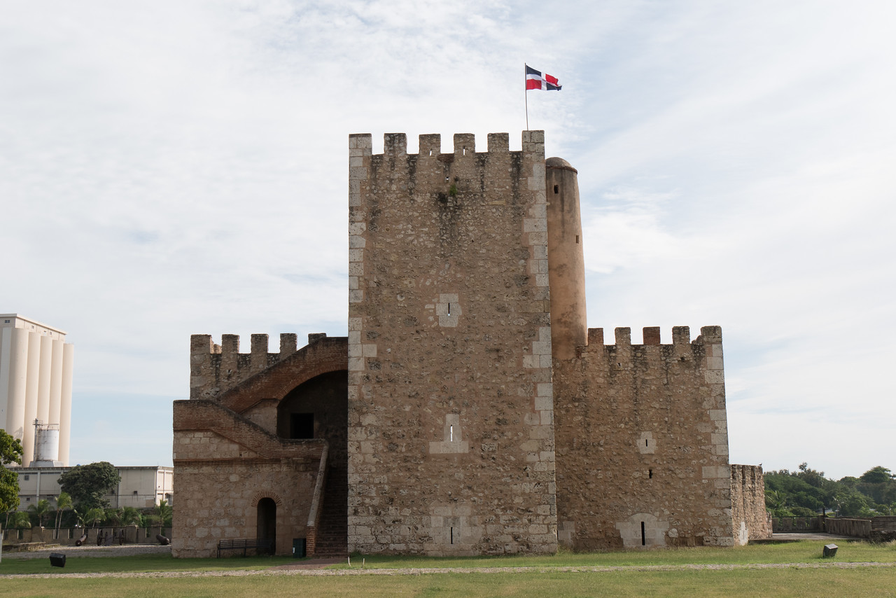 The Fortaleza Ozama is a sixteenth-century castle built by the Spanish at the entrance to Santo Domingo and overlooking the Ozama River. It is the oldest formal military construction of European origin in America.
