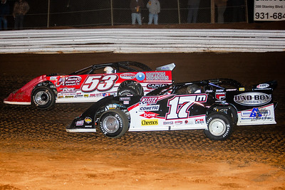 Ray Cook (53) and Dale McDowell (17M)