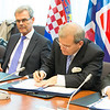 EEA enlargement signing, 11 April 2014: Kurt Jäger, Ambassador, Mission of Liechtenstein to the EU
