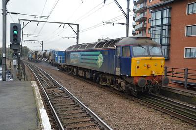 57011 tnt 57303 1224/3s60 Stowmarket - Stowmarket RHTT via Liverpool St.