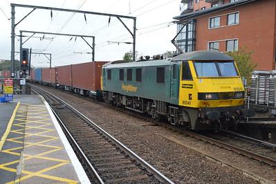 90041 1219/4L41 Crewe-Felixstowe.