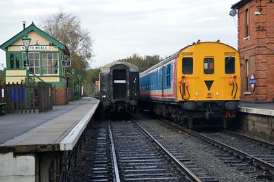 DEMU Class 205 No 205205 at The Epping & Ongar Railway.