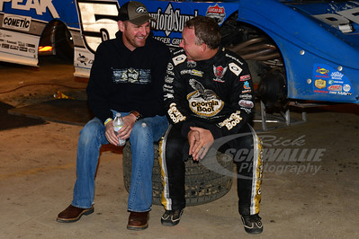 Clint Bowyer and Steve Francis
