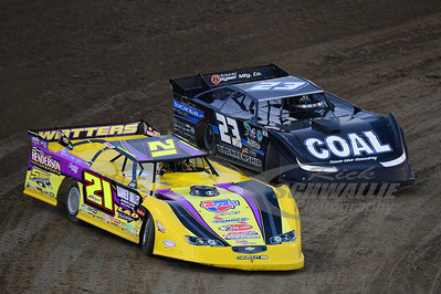 21 Billy Moyer and 23 John Blankenship