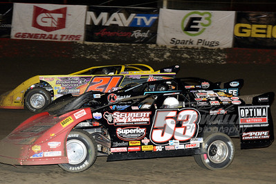 Ray Cook (53) and Billy Moyer, Jr. (21)