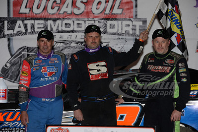 Dennis Erb, Jr. (center), Billy Moyer (left) and Jimmy Owens (right)