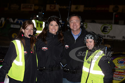 From Left to Right: Jen Ashley, Erin Bates, Dave Argabright and Nikki Hintlian