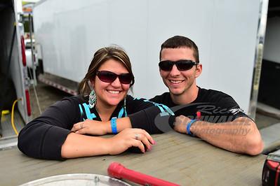Cody Mahoney and girlfriend Jennifer Downey