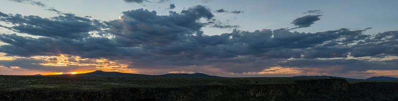 Rio Grande Gorge - Sunset