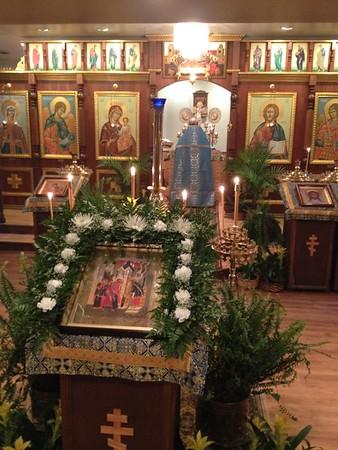 Entrance of Theotokos into the Temple
