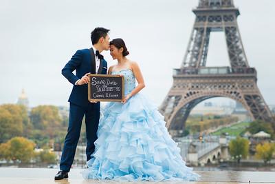 Esther & Carmel Paris