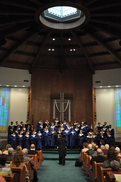 Concert Choir Spring Works April 28th