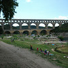 Pont du Gard - Roman Aqueduct Bridge of Nimes