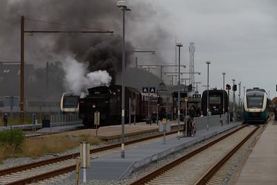 Museumstog DSB, Struer 15 June 2014
