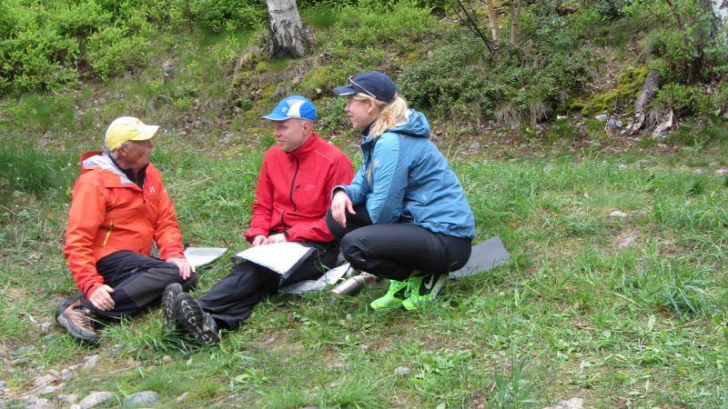 Start vid Östra Lagnö, Kjell, Ulf o Jeanette