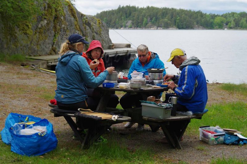 Gistholmen Jeanette, Alice, Anita o Kjell
