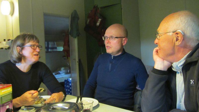 Andra kvällen Alice, Ulf o Kjell