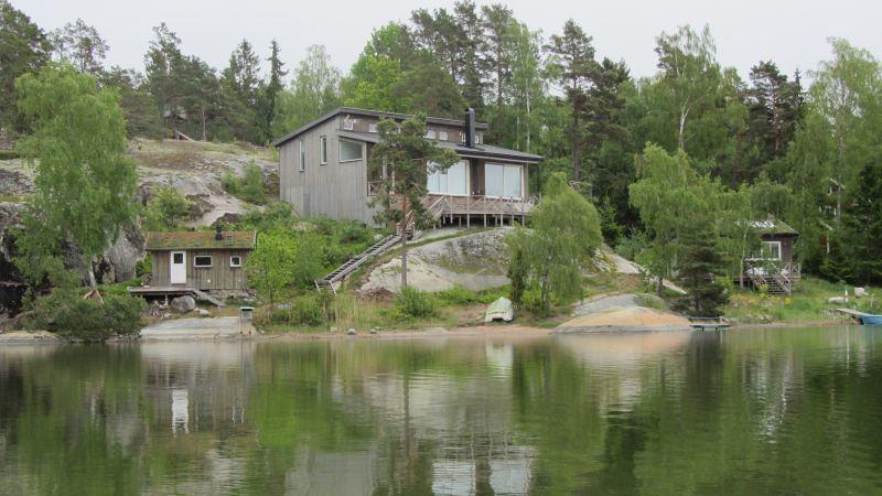 Inne i viken på Ingmarsö