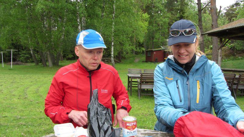 Lunch på Gistholmen Ulf o Jeanette