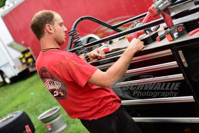 Team Dillon Racing crew member - Jesse Kerns
