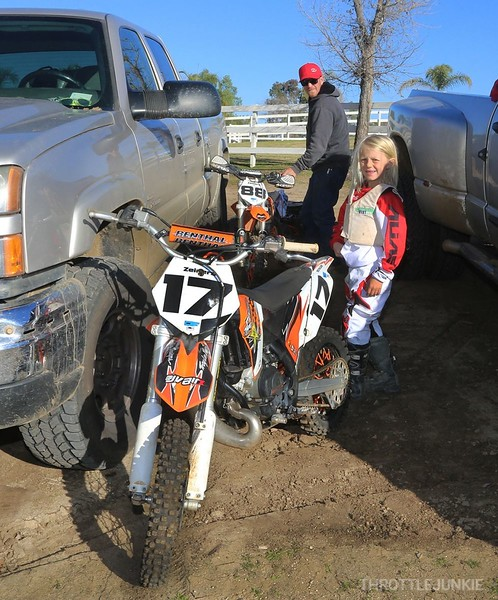 Faisst giving back to MX TJRIders at the compoud