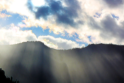 Leavenworth Sunrays....