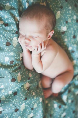 Ada's infant session photos