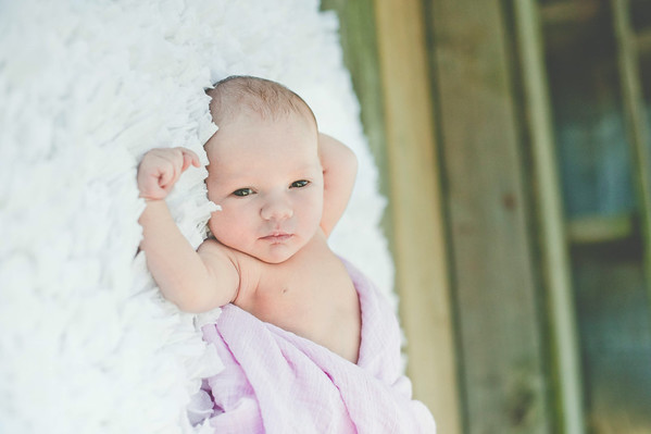 Ada's infant session photos