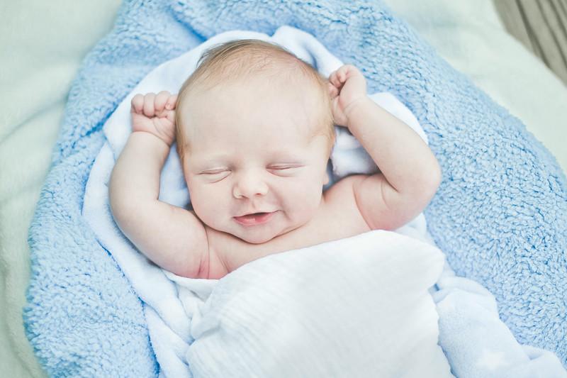 Cohen's infant photos