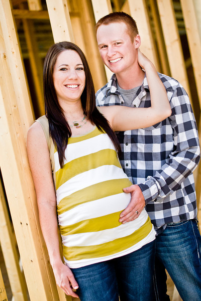Kassie and Matt's maternity session