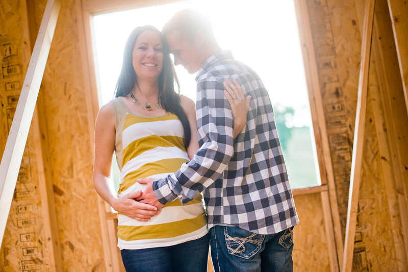 Kassie and Matt's maternity session