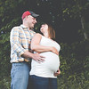 Kelly and Aaron's maternity photos