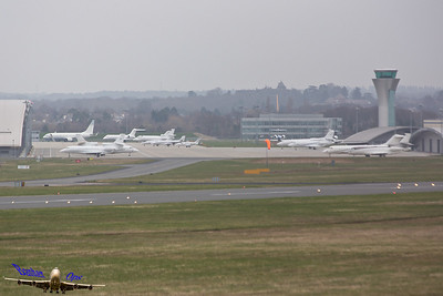Farnborough Apron Taken from Laffan's Road