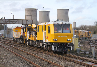 99 70 9131 001 8 Electrification Train Didcot 08/02/14 6Z09 Swindon to Swindon