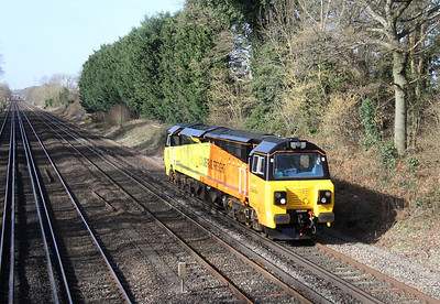 70801 Old Basing 26/02/14 0Z70 Eastleigh to Acton