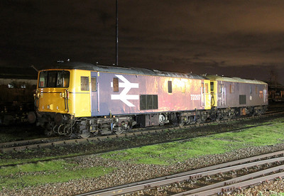 73207 Eastleigh 27/02/14 with 73201