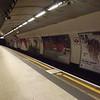 London Underground Circle Line platforms at St. Pancras International.