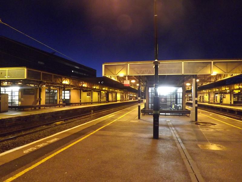 Milton Keynes Central station