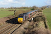 11 February 2014 :: Diverted due to flooding Cross Country HST 43378 is accelerating away from Westbury working 1V50 the 0606 from Edinburgh to Exeter St Davids