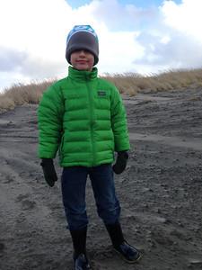 Winter beach Connor