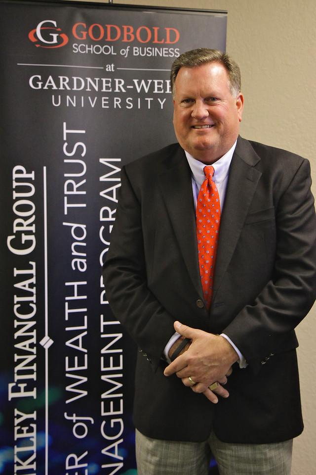 Brinkley Financial Group visits the Gardner-Webb University Charlotte Center, which hosts the Brinkley Financial Group Wealth and Trust Management Masters Degree Program. Spring 2014.