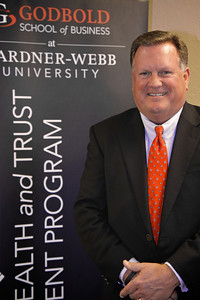 Brinkley Financial Group visits the Gardner-Webb University Charlotte Center, which hosts the Brinkley Financial Group Wealth and Trust Management Masters Degree Program. Spring 2014.