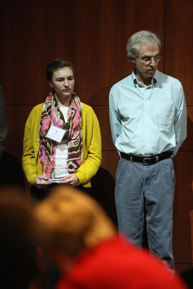 Rachael Zimmerman with Mentor Dr. David Yelton