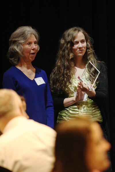 Kendra Bragg with Mentor Dr. Carolyn Billings