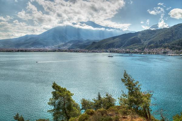 Fethiye Harbor, Turkey